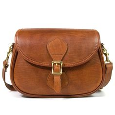 Brown Leather Shoulder Bag. Oh yes please