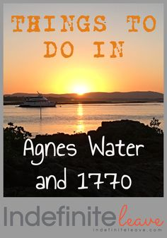 One of our favourite things to do in Agnes Water and 1770 is watch the magnificent Sunsets! Stuff To Do, Things To Do, Airlie Beach, Sunshine State, Great Barrier Reef, Australia Travel, Brisbane, Worlds Largest, Sunsets