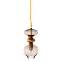 Discover the Ebb & Flow Futura Pendant Lamp - Chestnut Brown - 11cm at Amara