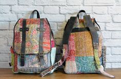 Patchwork Kantha Backpack