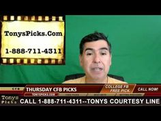 NFL Thursday Night College Football Picks Point Spread Odds Predictions ...
