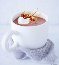 Dunkle Mozart-Schokolade - Frisch gekocht Tea Cups, Mugs, Drinks, Tableware, Hot, Punch, Chocolates, Foods, Easy Meals