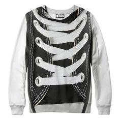 Laced Sweatshirt