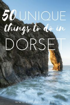 50 Unique Things to do in Dorset, England. An epic insider's guide from a born-and-bred Dorset local!