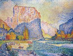 1902-03, Castellane, Paul Signac