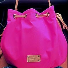 Kate spade Neon pink bag