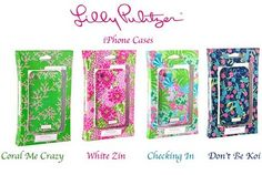 lilly iPhone cases!!