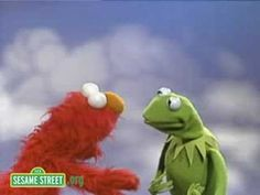 Sesame Street: Kermit And Elmo Discuss Happy And Sad - YouTube