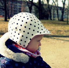 Supermüzz nach kostenloser Nähanleitung, Freebook - eine hervorragende Mütze für kühles Wetter!
