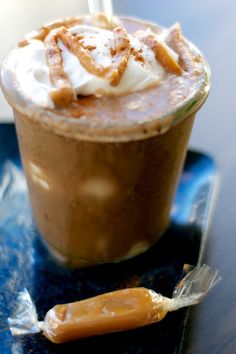Toffee Coffee Frappuccino #vegan #coconutwhip #awesome