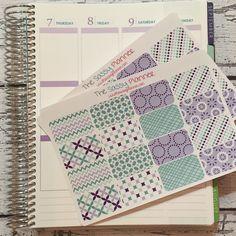 NEW! April Monthly Half Box Stickers for Erin Condren Life Planner/Plum Paper Planner - Set of 32