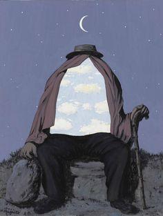 Rene Magritte. Le thérapeute, 1962.