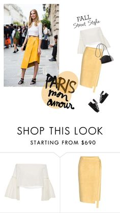 """""""Paris Street Style"""" by groove-muffin ❤ liked on Polyvore featuring Rosetta Getty and Alexander Wang"""