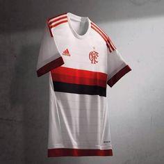 d891142867 Camisa reserva do Flamengo 2015-2016 Adidas a Camisa Do Flamengo