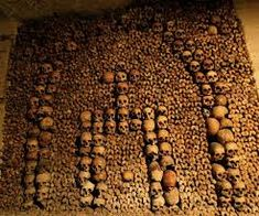 Image result for paris catacombes