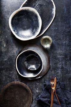 Caitlin Mills low res Propsjpg click the image or link for more info. Ceramic Tableware, Ceramic Pottery, Ceramic Art, Kitchenware, Pottery Plates, Ceramic Design, Porcelain Ceramics, Wabi Sabi, Teller Set