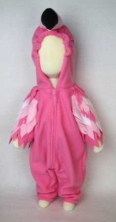Cute Costumes, Baby Costumes, Halloween Costumes, Costume Ideas, Children Costumes, Halloween Halloween, Halloween Makeup, Flamingo Costume, Bird Costume