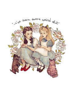 It's Dorothy & Alice