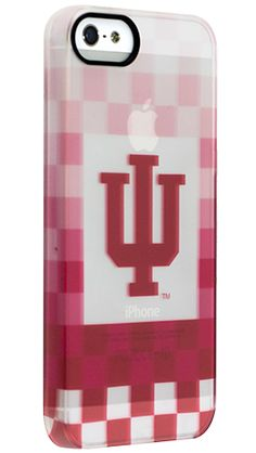 """""""Indiana Pixel Stripe"""" by Uncommon for the iPhone 5 Permafrost™ UN Deflector"""