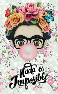 Super Wall Paper Celular Frida Khalo Frases Ideas Frida Kahlo Art Frida Kahlo Cartoon Art