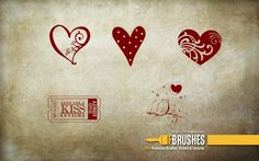 Love Free Photoshop, Photoshop Brushes, Romantic Images, Heart Images, Love Is Free, Love Birds, Textures Patterns, Greeting Cards, Dots