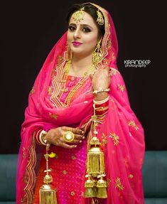 Bride 3 Punjabi Bridepunjabi Dresspunjabi Wedding Suitpunjabi Spunjabi