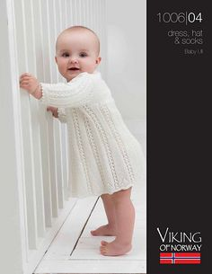Ravelry: 1006-04 Dress pattern by Elin Rosland