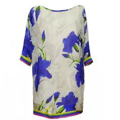 vestido - blusón de gasa JULUNGGUL primavera-verano 2014. www.julunggul.com Gauze dress, spring-summer 2014