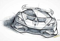 Huracan SuperTrofeo sketch by @peychich_nikola #centrostilelamborghini #lamborghinidesigndna #squadracorselamborghini #pencilsketch #racecarsketch #huracan #wecomeinpeace