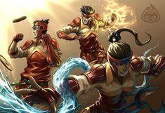 Korra, Mako and Bolin - The Legend of Korra