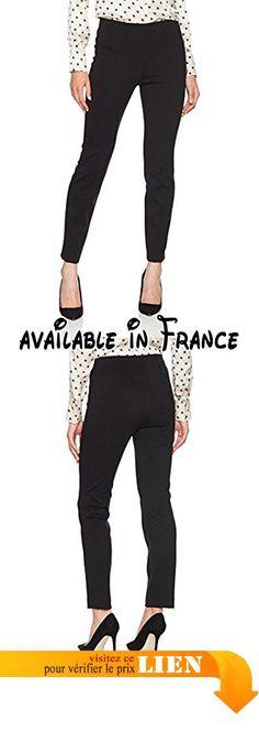 B0759P83FY : René Lezard F025J5634 Pantalon Femme Noir (999) W40.