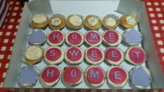 House warming cupcakes