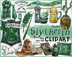 Slytherin clipart is good for Harry potter party decorations, invitations, Harry Potter Fan Art, Carte Harry Potter, Harry Potter Journal, Estilo Harry Potter, Harry Potter Stickers, Harry Potter Drawings, Harry Potter Houses, Harry Potter Pictures, Hogwarts Houses