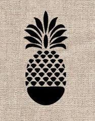Resultado de imagem para tatuagens abacaxi geometricas
