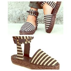 FREE PEOPLE Ankle Strap BNIB Free People Espadrilles  BNIB NWT  SOLD OUT AT FREE PEOPLE  Retail $168-228  These run a size smaller per FP reviews. Size is 37/7, fits size 6 best.  Color is Black and Natural Combo  Free People Shoes Ankle Boots & Booties