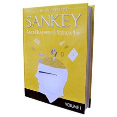 Definitive Sankey Volume 1 (Book and DVD) by Jay Sankey and Vanishing Inc. Magic - Book