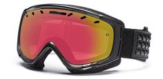 Smith Phase Snow Goggles in Gunmetal Warrior/Red- $129.95
