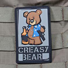 Creasy Bear Morale Patch | Violent Little Machine Shop