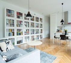 Salon styl Skandynawski - zdjęcie od DZIURDZIAprojekt