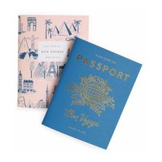 Rifle Paper Passport Notebooks (€9,86) ❤ liked on Polyvore featuring home, home decor, stationery and filler