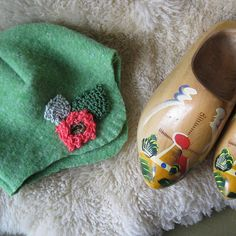 garden cloche hat recycled sweater
