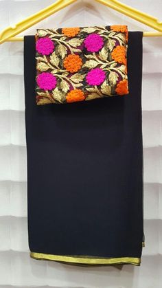 Here is the latest collection in wrinkle chiffon sarees in this we have different color options Now a da...