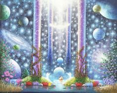 Gallery 1 : Visionary, Spiritual, Surreal, Mystical, Fantasy….. | Art of Benny Andersson