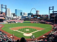 Home of the 11 time World Series champion Cardinals, this recently rebuilt stadium offers comfortable seating, friendly staff, and great views of the game and the surrounding city. The lively atmosphere will keep even non sports fans entertained!
