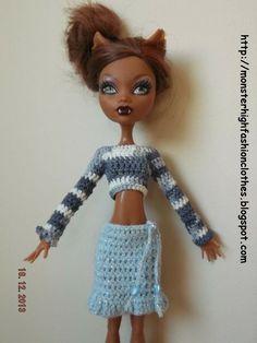 Si te gustan mis modelos, no dudes en visitar mi tienda: http://mymonsterhighboutique.dawanda.com o mi blog: http://monsterhighfashionclothes.blogspot.com Los envios a España son gratuitos. Ropa de Monster High s180 von My Monster High boutique auf DaWanda.com