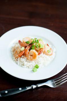 Easy Pan-Seared Shrimp with Hoisin Ginger Glaze (via www ...