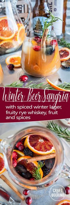Winter Beer Sangria (with Spiced Bock Lager & Rye Whiskey) Potato Recipes, Pasta Recipes, Soup Recipes, Vegetarian Recipes, Chicken Recipes, Dinner Recipes, Healthy Recipes, Casserole Recipes, Crockpot Recipes