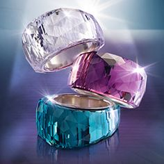 """Nirvana Petite Amethyst Ring. A gorgeous, petite version of Swarovski's iconic Nirvana ring. Beautifully crafted in trendy Amethyst crystal, this silver-plated creation sparkles from all angles. Its elegant coloring lends a glamorous, feminine note to any outfit."""