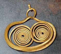 Mycenaean Gold Earring