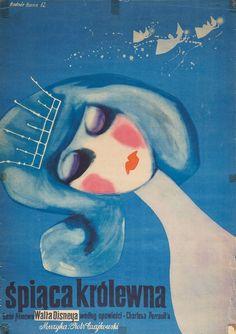 Cinderella Poster (Poland, 1962)